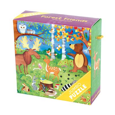 Forest Friends Jumbo Puzzle By Rowe, Helen (ILT)